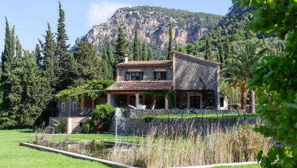 Finca im traditionellen Stil inmitten der Natur in Valldemossa