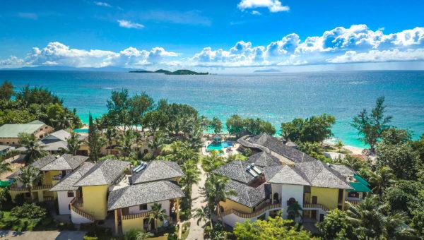 Seychellen: Das einzige All-Suite Hotel auf der Insel Praslin in der 4-Sterne-Kategorie.